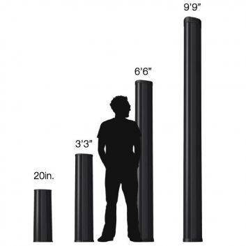 Optex beam enclosure sizes